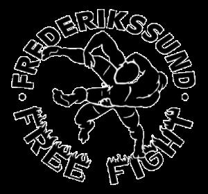 Frederikssund Free Fight, kampsport Logo sort